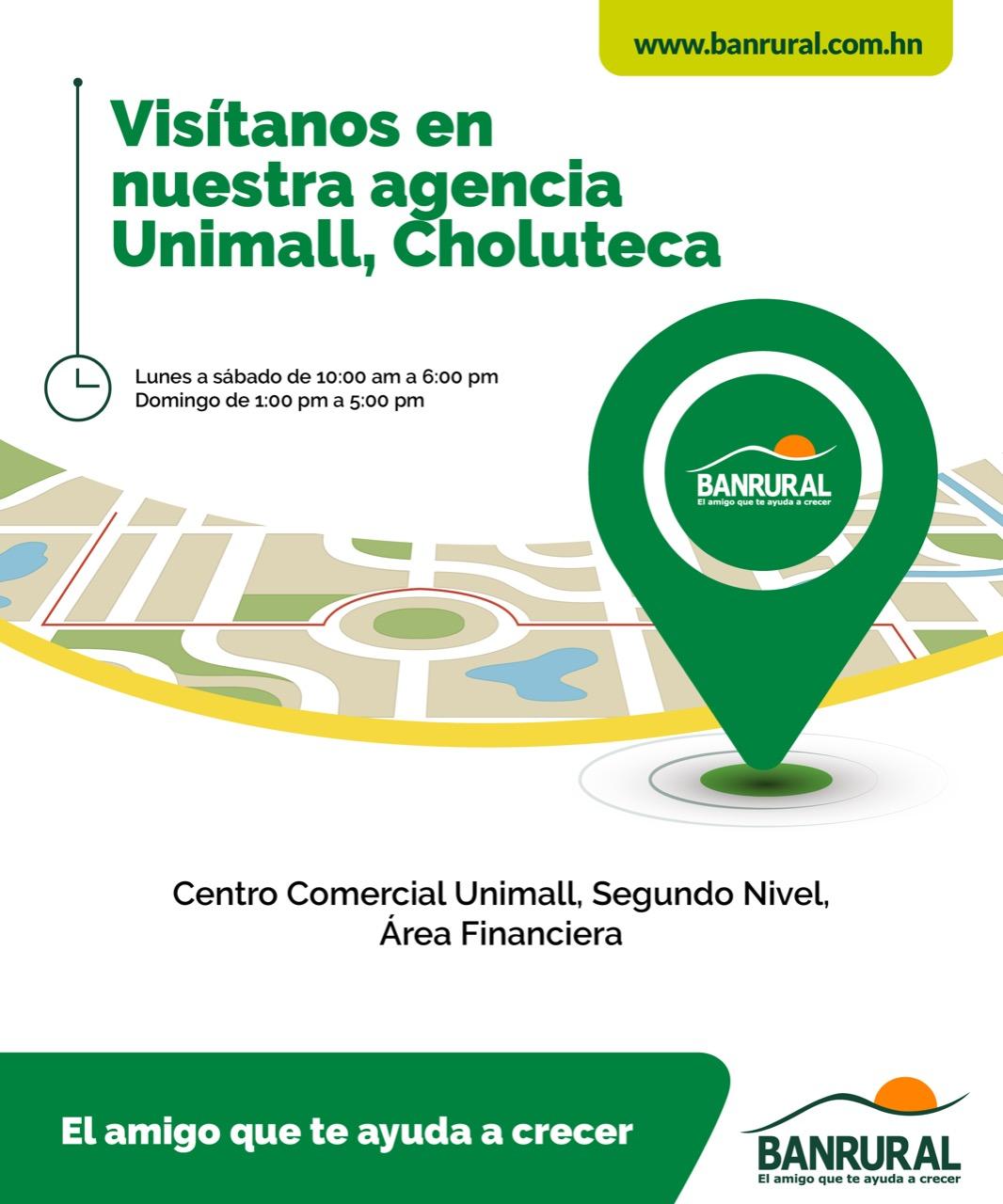 Centro Comercial Unimall, Segundo Nivel, Área Financiera